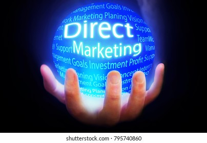 Direct Marketing globe