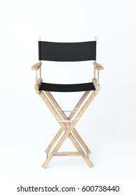 Director's chair 3d rendering