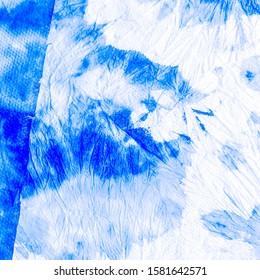 Dirty Art Border. Colorful Tie And Dye. Aquamarine Dirty Fabric Pattern. Washing Effect Patterns. Aquamarine Pattern. Faded Fabric. Sky Tribe.