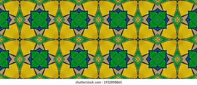 Dirty Art Picture. Multicolored wallpaper. Azure, Ruby and light. Papirus Carpet style. Reflecting color. Elegant Aquarelle. Bohemian batik. Green.