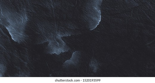 Dirty Art Wallpaper. Black, Dark, White Shibori Dyeing. Ash Ink Clouds. Watercolor Cotton Wallpaper. Artistic Dyed Brushstroke. Watercolor Drawn Ornament. Hand Painting Fabric.