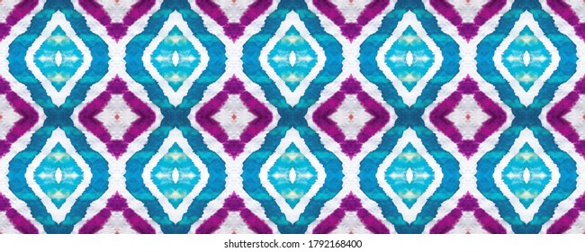 Dirty Art wallpaper. Seamless Ethnic Pattern. Multicolor Ikat. Oldschool Motley Print. Shibori Marble Watercolor paint. Azure Light. Mirror print. Dirty Art.