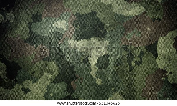 Dirty camouflage