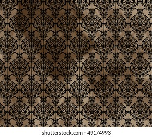 Dirty Old Wallpaper Background