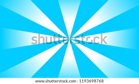 Discount Offer Background Template Sky Blue Spotlight Shine Centered Model For Ad Web