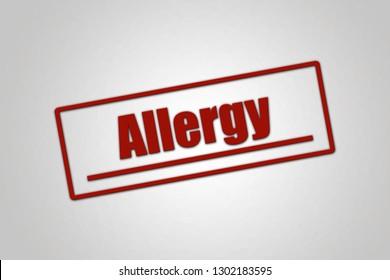 Disease - Header - Allergy