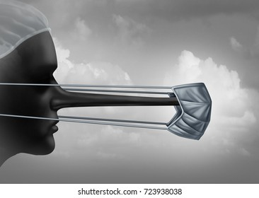 Dishonest doctor and hospital corruption concept or spreading medical lies symbol as a physician with a long nose as a metaphor for criminal and immoral medicine in a 3D illustration style.