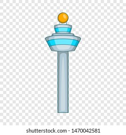 Dispatch tower icon. Cartoon illustration of dispatch tower icon for web