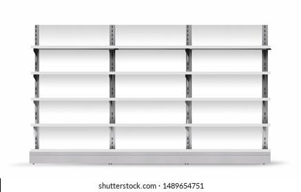 Display Gondola Blank | Shelf Supermarket