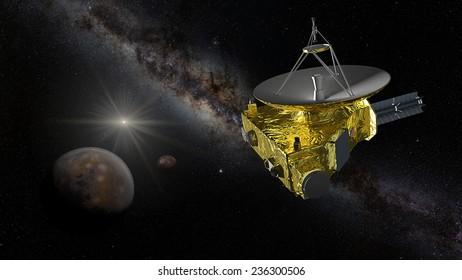 Distance-encounter operations at Pluto, with the onboard LORRI imager plus Ralph telescope, will begin January 4, 2015. On May 5, 2015, resolution will exceed the Hubble's resolution.