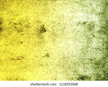 A distressed print textured background in graduated shades of yellow. Scanned from an original lino print.