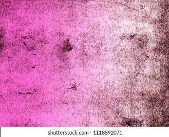 A distressed print textured background in graduated shades of magenta. Scanned from an original lino print.