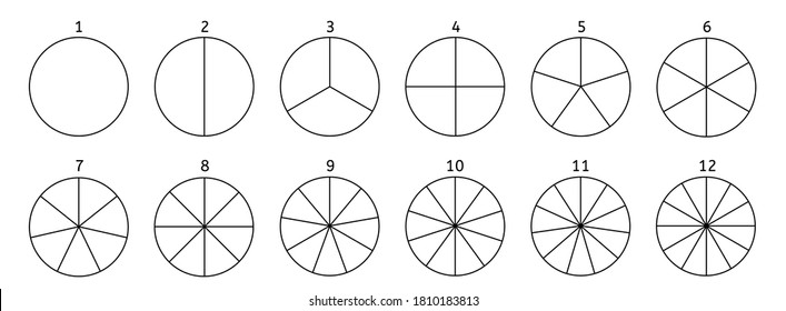 Circle Divided Into Segments Images Stock Photos Vectors Shutterstock