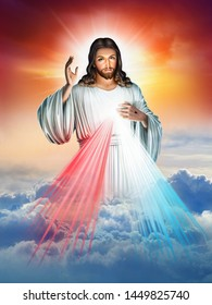 Divine Mercy of Jesus God of Christian