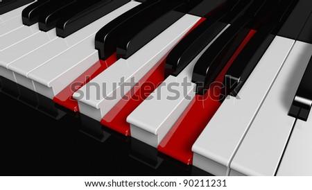 D Minor Piano Chord Stock Illustration 90211231 Shutterstock