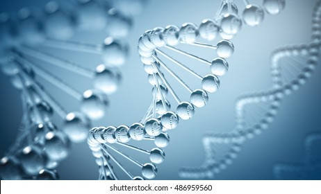 DNA Background - 3D illustration
