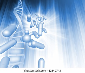 DNA Capsules Abstract