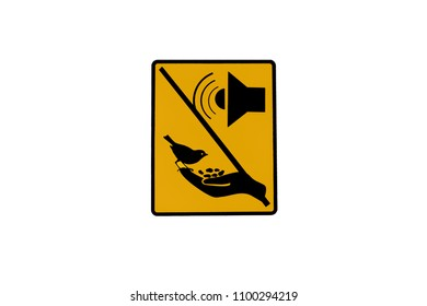 DO not feed birds and not use recording of birds call to lure the birds out.