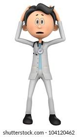 doctor cartoon oh my lord