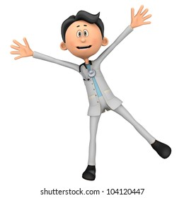 doctor cartoon spread
