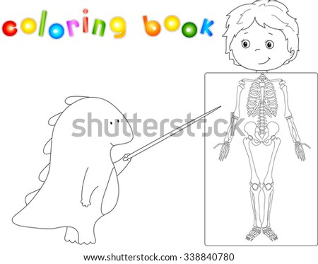 Doctor Dragon Patient Whose Body Shown Stock Illustration 338840780