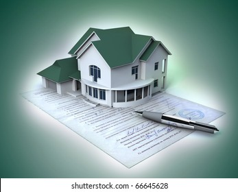 Documents on the house