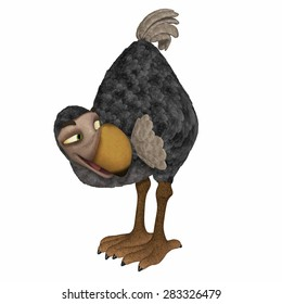 Dodo 3d cartoon