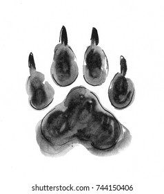 Wolf Paw Images Stock Photos Vectors Shutterstock