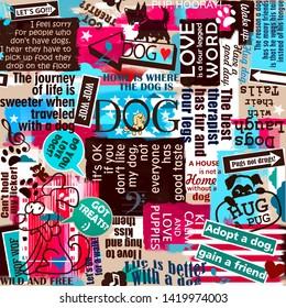 Dog Slogan Images, Stock Photos & Vectors | Shutterstock