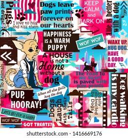Imágenes, fotos de stock y vectores sobre Slogan Dog | Shutterstock