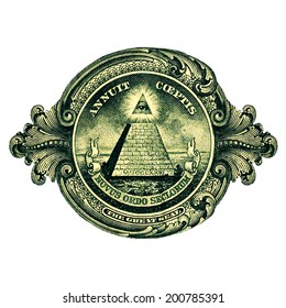 Dollar, Great Seal, Pyramid Eye