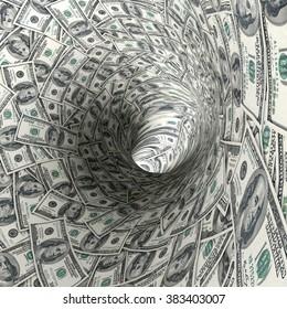 Dollar tunnel.