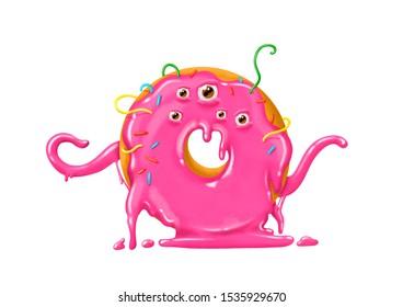 donut  monster doughnut monster terribly