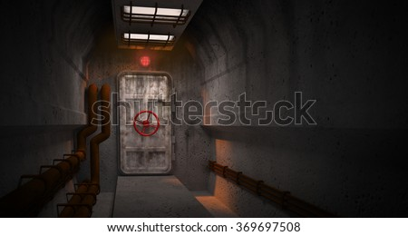 door to the fallout