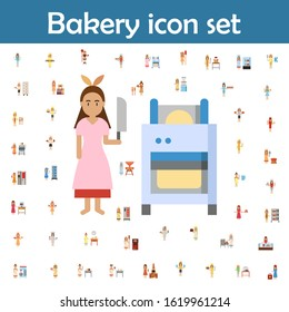 Dough sheeter color icon. Bakery icons universal set for web and mobile