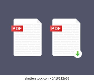 Imágenes, fotos de stock y vectores sobre Notebook Pdf | Shutterstock