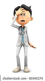 Dr Cartoon oh no