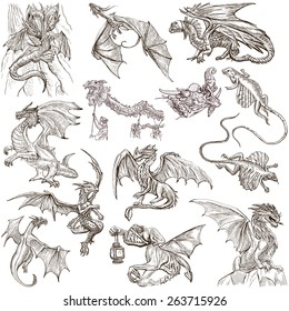 Drawing Sketch Pictures Of Dragons