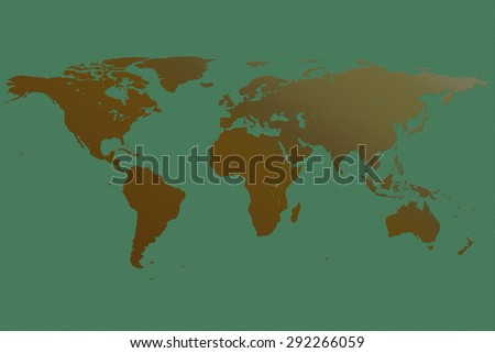 Royalty Free Stock Illustration of Draw Map World Simple Format ...