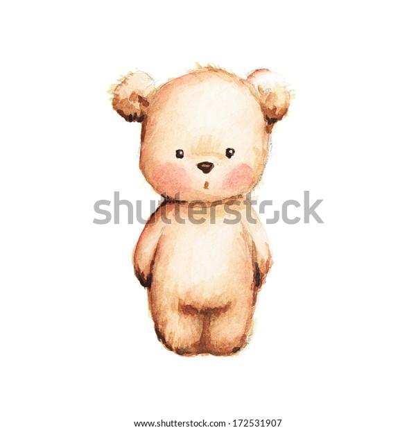 Zeichnen des Teddybären