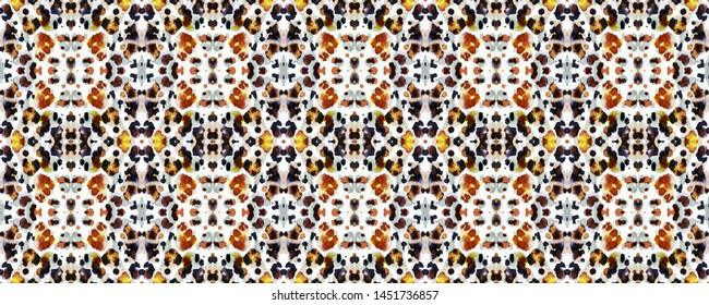 Drawing Fur. Watercolor Zoo Backdrop. Watercolour Cat. Dalmatian Texture. Jungle Tiger Ornament. Drawing Fur Background. Camo Design.
