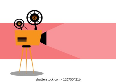 Similar Images, Stock Photos & Vectors of Movie Projector