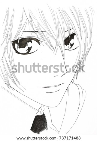 Drawing In The Style Of Anime Image A Man Picture