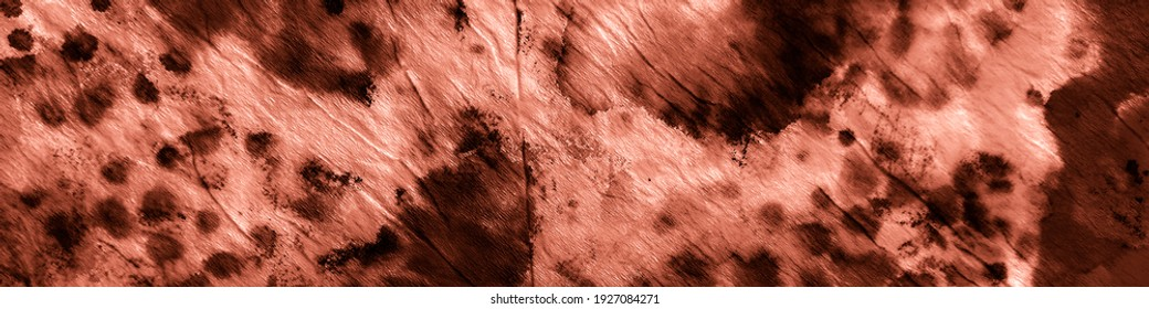 Drawn Watercolor Style. Tan Dirty Paper Art. Watercolor Banner Print. Tan Japanese Traditional Pattern. Tan Batic Tie Patterns. Beautiful With Skin.