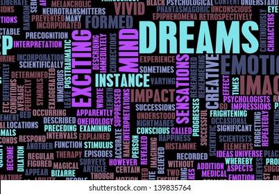 Dreams and Creative Imagination that are Vivid