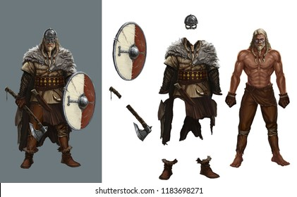 Dress up games viking round shield Helme