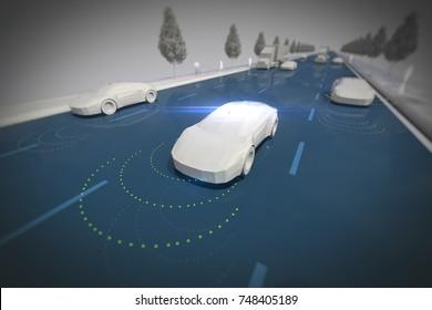 Driverless self drive autonomous vehicle
