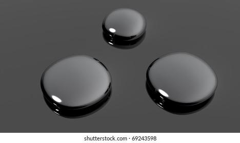 Drops of silver