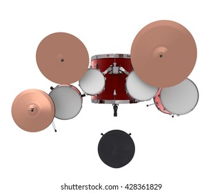 Drum Kits Set Top Stock Illustrations Images Amp Vectors