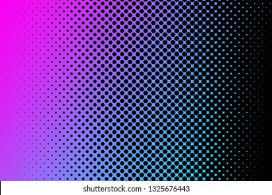 Duotone dot background. Gradient dot background.